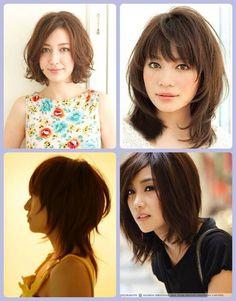 27 cortes de cabelo para orientais médio - asian haircut