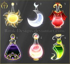 Halloween contest - Prizes by Rittik-Designs on DeviantArt Anime Weapons, Fantasy Weapons, Armes Concept, Art Sketches, Art Drawings, Character Art, Character Design, Art Magique, Elemental Magic