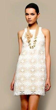 Looks e vestidos brancos curtos para arrasar no Verão 2012