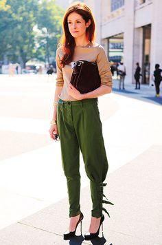 CIRCA Fashion: Buy It: Dries Van Noten Jodhpur Pants Worn by Stephanie Lacava and Julianne Moore