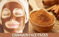 How to make a face pack using cinnamon and honey. At home tips on making a simple face pack at home.