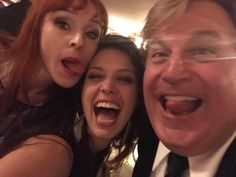 Jim Michaels @TheJimMichaels   Great fun being silly with good friends! #SPNFamily #supernatural @cw_spn  Jim Michaels, Alaina Huffman and Ruth Connell ♕