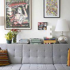 grey couche