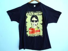 Vintage 1988 George Thorogood and the Destroyers Tour Shirt - Screen stars - XL -
