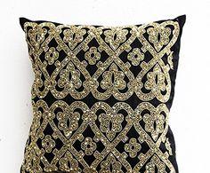 Amore Beaute Black Beaded Pillow Covers - Black Metallic ... https://www.amazon.com/dp/B00N6TR4YW/ref=cm_sw_r_pi_dp_EaOxxbK0RW2PA