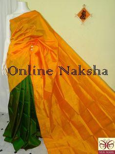 Indian Silk Sarees, Soft Silk Sarees, Saree Look, Georgette Fabric, Handloom Saree, Saree Styles, Sarees Online, Woven Fabric, Blouse Designs