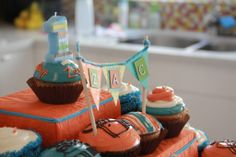 "Adore the ""In a Flash"" theme for this party. #birthday #party"