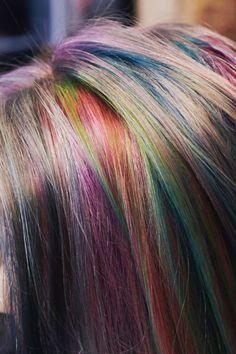 Taste the Rainbow: I Tried Sand-Art Hair