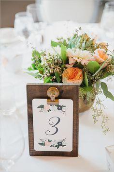 peach table numbers #tablenumbers @weddingchicks