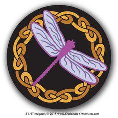 Outlander Dragonfly magnet