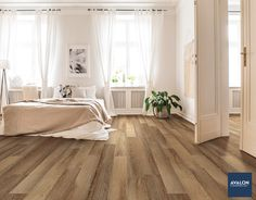 "COREtec Everyday 5.91"" Chestnut Vinyl Plank shown in the Moonstone color 