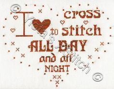 Cross stitch kits by Yiota. From modern and abstract to classical fine art and vintage cross stitch designs. Cross Stitch Quotes, Cross Stitch Letters, Cross Stitch Boards, Cross Stitch Heart, Cross Stitch Samplers, Cross Stitching, Free Cross Stitch Charts, Cross Stitch Freebies, Blackwork Embroidery
