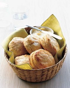 Enjoy these fluffy buttermilk biscuits with our Quick Jambalaya and Iceberg Salad with Creamy Honey Dressing.