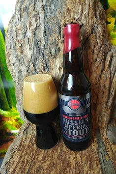 """From Bomber Brewing in Vancouver comes their """"Bourbon Barrel-Aged Russian Imperial Stout"""". For the review click on the link below.   https://wp.me/p2vssO-eBN"""