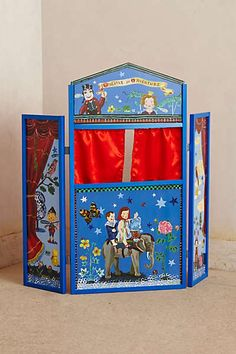 Anthropologie - Wooden Puppet Theater