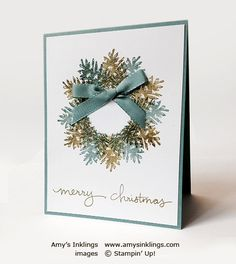 Ornamental Pine, Endless Wishes, Stampin' Up!, Amy Whelan