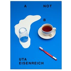 A Not B, Uta Eisenreich. 'Book with recent photographic work by Uta Eisenreich focussing on the shortcomings of our cognitive tool-kit. A NOT B walks us along the fine line between common sense and uncommon nonsense in a realm reminiscent of pre-school books, assessment tests and optical illusions.'