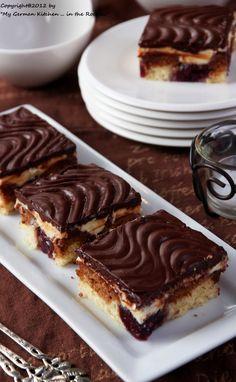Donauwelle (Cherry Marble Cake)