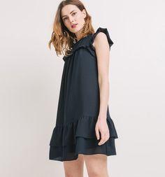 Vestido+com+folhos