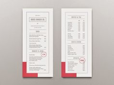 25 Well Designed Restaurant Menus You'll Definitely Love - Jayce-o-Yesta