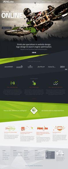 Website Design Sunshine Coast – Web Design and Logo Design – thinkLuke