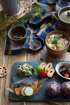 黒米おにぎりと和のワンプレート。 | あ~るママオフィシャルブログ「毎日がお弁当日和♪」Powered by Ameba