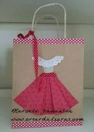 Resultado de imagen para bolsas de regalo decoradas