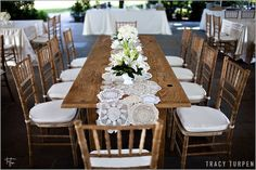 table runners burlap and lace | ... Constanti 39s wedding news Burlap and Lace table linens White Burlap