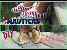 Como pintar y decorar zapatos deportivos muy económicos danloles una apariencia más chic