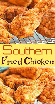 Southern Fried Chicken Southern Fried Chicken You are in the right place about party food Here we offer you the most beautiful pictures about the food saludable you are looking for. When you examine the Southern Fried Chicken part Best Fried Chicken Recipe, Homemade Fried Chicken, Chicken Drumstick Recipes, Easy Chicken Recipes, How To Fry Chicken, Southern Buttermilk Fried Chicken, Salmon Recipes, Fried Chicken Recipe With Cornstarch, Recipe For Southern Fried Chicken
