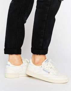 a92b4119451 Reebok Club C 85 vintage court sneaker in chalk