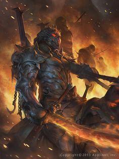 Demon Knight by Stepan Alekseev (chosac) on ARQUTE