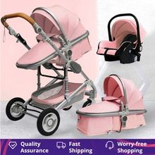 Buy Luxurious Baby Stroller 3 in 1 Portable Travel Baby Carriage Fold Pram High Landscape Aluminum Frame Newborn Infant Stroller at www.babyliscious.com! Free shipping to 185 countries. 21 days money back guarantee. Double Strollers, Baby Strollers, Black Babies, Baby Carriage, Prams, Traveling With Baby, Art Store, Aliexpress, Aluminium Alloy