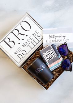 Groomsman Gift Groomsmen Gift Box Will You Be My Groomsman Gift Groomsman Proposal Best Man Gift Set Personalized Thank You for Guys Asking Groomsmen, Groomsmen Gifts Unique, Groomsmen Gift Box, Be My Groomsman, Groomsmen Proposal, Bridesmaid Proposal Box, Unique Gifts For Men, Bridesmaids And Groomsmen, Groomsman Gifts