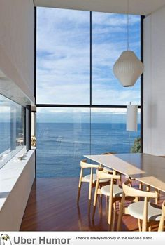 Floor-to-ceiling windows... with an amazing view.#design inspired #properties.
