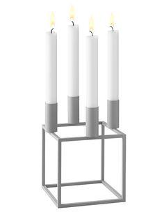cool grey - limitiert #byLassen #Kubus4 Kerzenständer - Jetzt erhältlich im #KONTOR1710