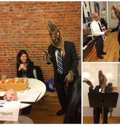 Halloween fun flashback to 2015, Rochester Chamber #Toastmasters Craig Weckwerth putting on a ghoulishly grand meeting 🎃 #rochmn #rochdmc