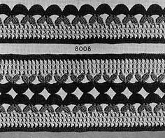 Darby and Joan Edging & Insertion Pattern #8008