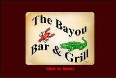 The Bayou Bar and Grill, located in Pocahontas, Missouri is a wonderful cajun themed restaurant.