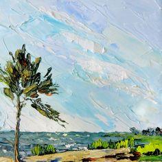 The Accidental Artist: Burton's Shore - near our home in Wachapreague, VA