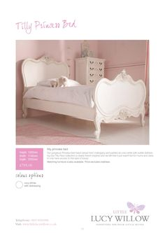 Found what im looking for!!! beautiful bed but out of my budget!!! Little Lucy Willow by First Sight Graphics
