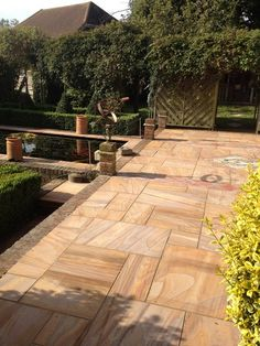 Rainbow sawn sandstone paving - natural stone & timber ltd garden floor, paving stones,
