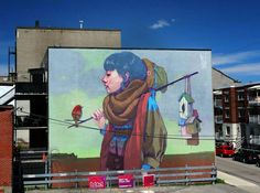 New Murals from Etam Cru on the Streets of Oslo and Montreal