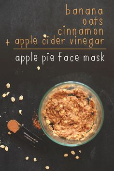 DIY: apple pie face mask