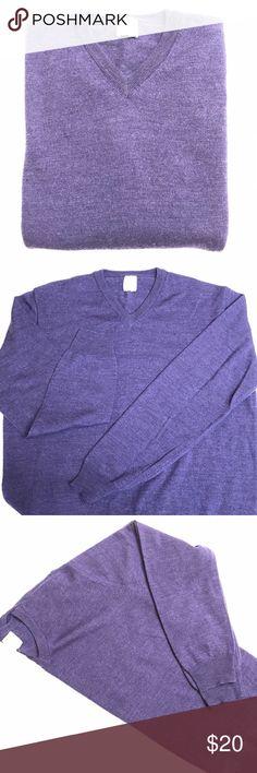 Giasone Merino Wool Sweater Lavender Purple Large Like new Giasone 100% Merino Wool Sweater. Lavender purple color; size: Large. Beautiful condition and soft. Giasone Sweaters V-Neck