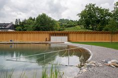 Naturbad Riehen (biologically filtered bathing lake in Riehen, Switzerland) by Herzog & de Meuron