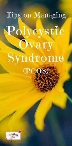 How I Try to Manage my Polycystic Ovary Syndrome (PCOS)  PCOS also known as Polycystic Ovary Syndrome, is a hormonal disorder that can be very common in women. I will try to explain PCOS in the easiest way to understand it. I hope to increase more awareness of this incurable health problem and give support to other ladies out there who have the same issue.