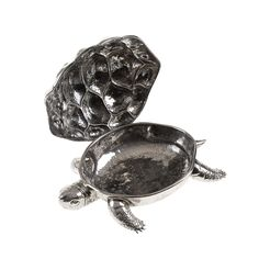 Turtle Silver Box - Decorative Art - Home Décor and Interior Design ideas from Italy's finest artisans - Artemest
