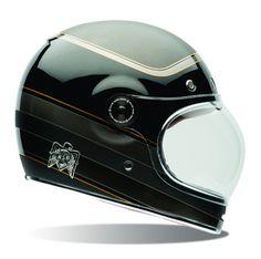 BELL Bullitt - ROLAND SANDS Bagger - Carbon Helmet with ECE & DOT