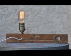 Lamp bubble level by antiklamp on Etsy